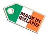 Vector clipart: label Made in Ireland