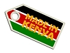 Vector clipart: label Made in Kenya
