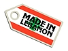 Vector clipart: label Made in Lebanon