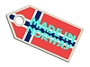 Vector clipart: label Made in Norway
