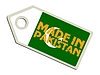 Vector clipart: label Made in Pakistan