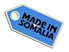 Vector clipart: label Made in Somalia