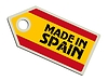 label Made in Spain