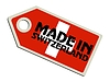 Vector clipart: label Made in Switzerland