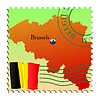 Vector clipart: Brussels - capital of Belgium