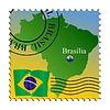 Vector clipart: Brasilia - capital of Brazil