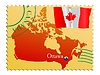 Vector clipart: Ottawa - capital of Canada