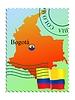Векторный клипарт: Богота - столица Колумбии