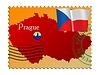 Векторный клипарт: Прага - столица Чешской Республики