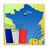 Векторный клипарт: Париж - столица Франции