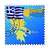 Vector clipart: Athens - capital of Greece