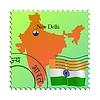 Векторный клипарт: Нью-Дели - столица Индии
