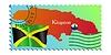Vector clipart: Kingston - capital of Jamaica