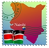 Vector clipart: Nairobi - capital of Kenya