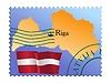 Vector clipart: Riga - capital of Latvia