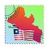 Vector clipart: Monrovia - capital of Liberia