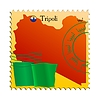 Vector clipart: Tripoli - capital of Libya