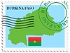 почты, из Буркина-Фасо