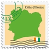 Vector clipart: mail to-from Cote d`Ivoire