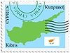 Vector clipart: mail to-from Cyprus