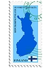Vector clipart: mail to-from Finland