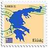 Vector clipart: mail to-from Greece