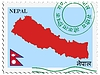 Vector clipart: mail to-from Nepal