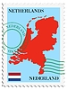 Vector clipart: mail to-from Netherlands