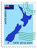 Vector clipart: mail to-from New Zealand