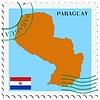 Векторный клипарт: почты, из Парагвая