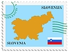 Vector clipart: mail to-from Slovenia