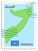Vector clipart: mail to-from Somalia
