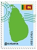 Vector clipart: mail to-from Sri Lanka