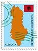 Векторный клипарт: почты, из Албании
