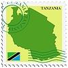 Векторный клипарт: почты, из Танзании