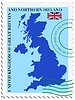 Vector clipart: mail to-from United Kingdom