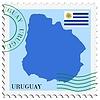 Векторный клипарт: почты, из Уругвая
