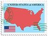 Векторный клипарт: почты, США