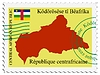 Vector clipart: mail to-from Central African republic