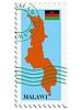 Векторный клипарт: почты, из Малави