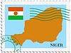 Векторный клипарт: почты, из Нигера