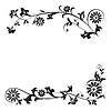 Vector clipart: ornament floral