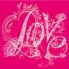 Love pink | Stock Vector Graphics