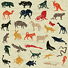 Vector clipart: Animals