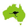 Векторный клипарт: Австралия