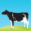 Векторный клипарт: корова