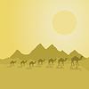 Векторный клипарт: Desert