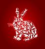 Векторный клипарт: Кролик