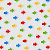 Векторный клипарт: Фон arrows