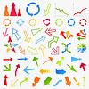 Векторный клипарт: Коллекция arrows